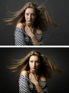 портрет, обработка 3