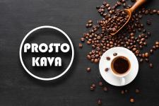 Minimalistic Logotype for coffee bar