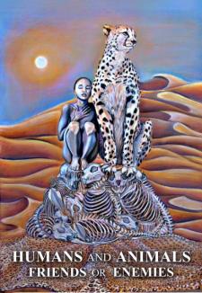 Иллюстрация человек и природа