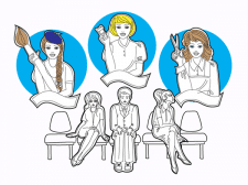 Персонажи для видеоролика
