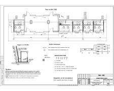 Фрагмент плана СКС общественного здания