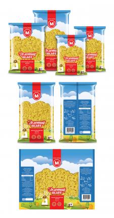 Упаковка макарон Орташ Украина