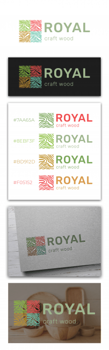 Логотип Royal craft wood 2
