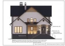 Дизайн фасаду будинку в сучасному стилі