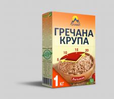 Дизайн упаковки для крупы