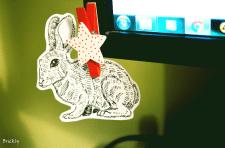Стикер заяц