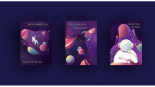 Space Postcard Collection