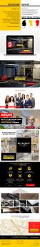 Дизайн сайта мебели премиум класса