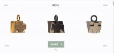 "Сайт ""IKON"" продажа кулонов с QR кодом."
