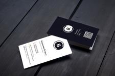 Дизайн визитки для дизайнера (самого себя)