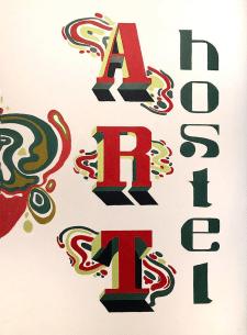 Иллюстрация со шрифтом