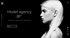 Сайт для модельного агентства