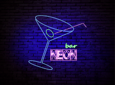 Логотип Neon Bar