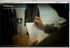 Сайт дизайнера одежды «Елены Пржонской»