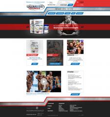 Интернет-магазина спортивного питания GeneticLab