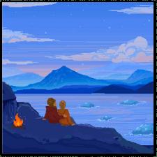 Иллюстрация Исландия