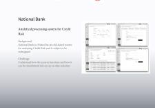 аналитическая система обработки кредитного риска