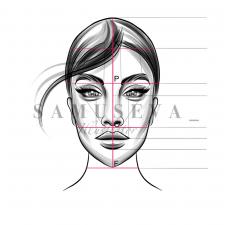Иллюстрации для обучающего курса Бьюти мастеров