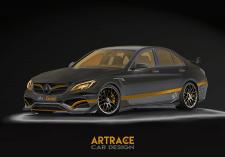 Mercedes Benz C63 Artrace body-kit