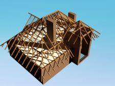Кроквяна система в 3D
