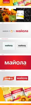 Логотип для подсолнечного масла «Майола»