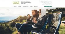 Сайт-каталог складной мебели для активного отдыха