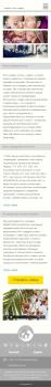 Дизайн Мобильной версии сайта по родам в Америке