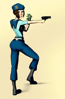 Фан-арт Resident Evil