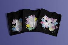 T-shirt Design Watercolor
