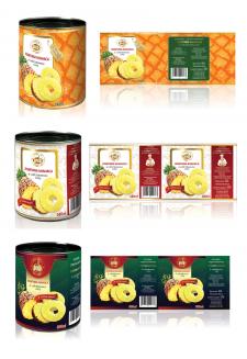 ДобраДа! | этикетка для ананасов