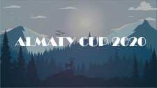 Баннеры для грант-турнира ALMATU CUP 2020