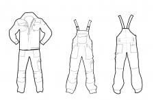 Макеты для одежды