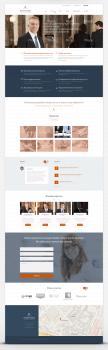 Дизайн Landing page для юридической компании