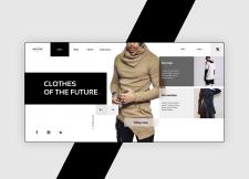 SOCLOTHE - Clothes store concept