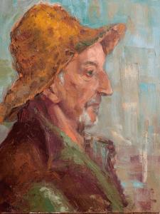 Портрет на холсте