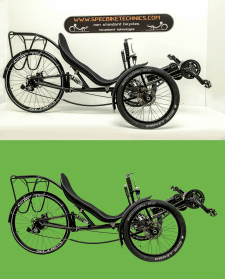 Обтравка велосипедов для замены фона