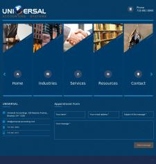 Universal -  сайт американской компании Universal