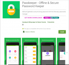 Passkeeper - Offline & Secure Password Keeper