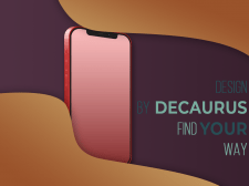 iPhone design by Decay