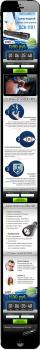 Дизайн мобильной версии Landing Page для OCA1101
