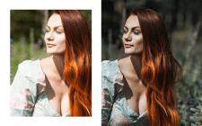 Фотосъемка, цветокоррекция фотографии до/после