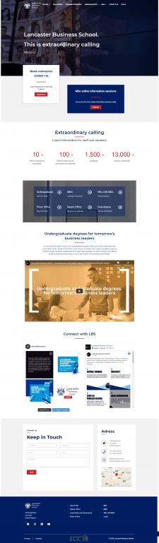 Разработка сайта для он-лайн школы