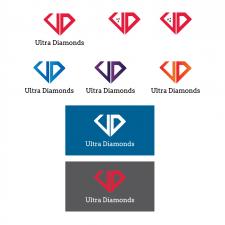 Логотип и торговый знак по наноалмазам Ultra Diamo