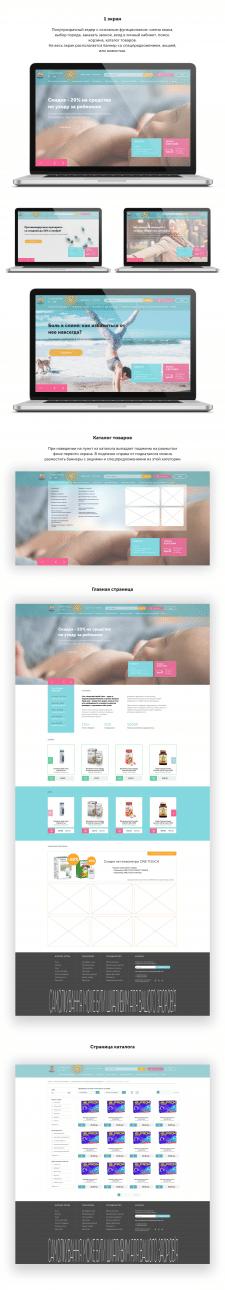 Дизайн для сети аптек (конкурсная работа)