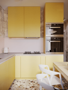 Дизайн квартиры. Кухня