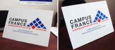 Campus France(desktop stand)