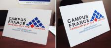 Campus France(desktop stand)
