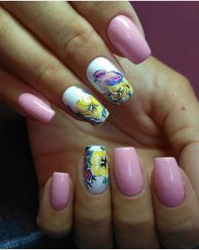 Художній розпис на нігтях
