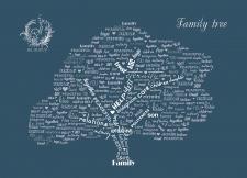 Семейное дерево на свадьбу