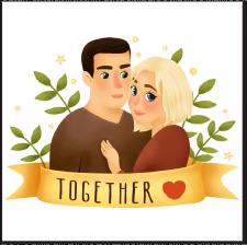 Иллюстрация пары